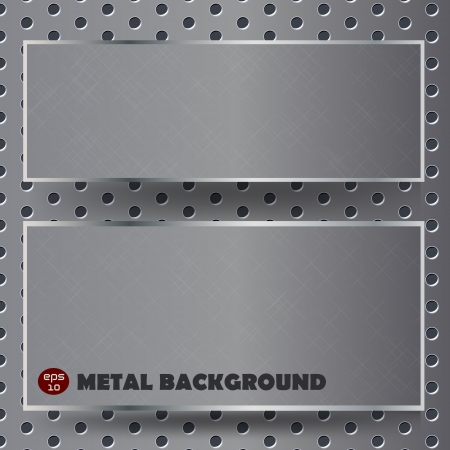 Abstract background, metallic texture. Stock Vector - 14108592