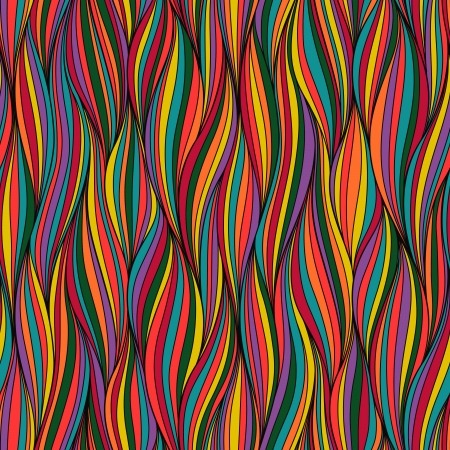 Seamless wave hand-drawn pattern, waves background.Can be used for wallpaper, pattern fills, web page background,surface textures. Gorgeous seamless wave background.