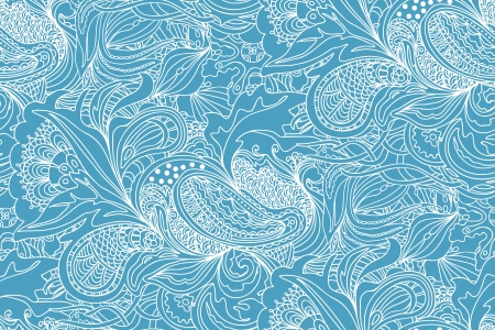 Seamless abstract hand-drawn pattern Stock Vector - 15887705