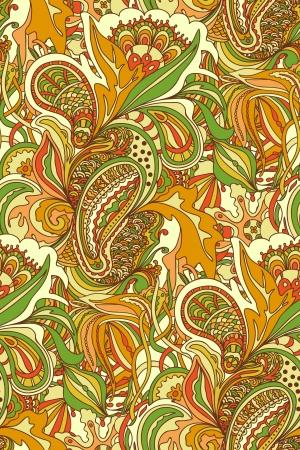 Nahtlose abstrakten handgezeichnete Muster