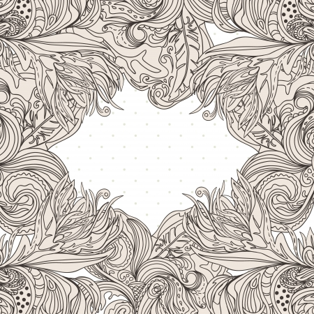Vintage hand-drawn background Stock Vector - 17476567