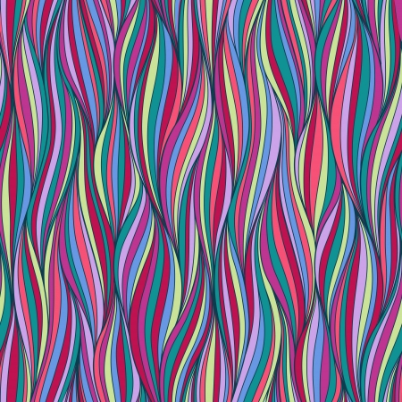 Seamless wave hand-drawn pattern, waves background Can be used for wallpaper, pattern fills, web page background,surface textures  Gorgeous seamless wave background Stock Vector - 18149024