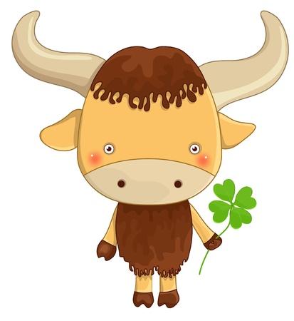 yak: funny yak cartoon character