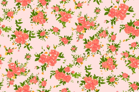 romanticist: Shabby chic rose pattern background with copyspace frame template.