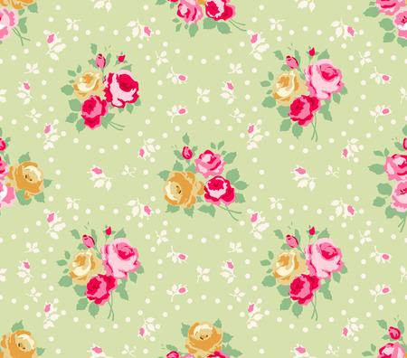 Beautiful Seamless rose pattern