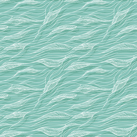 abstract waves background: Vector abstract hand-drawn doodles texture, abstract waves background.