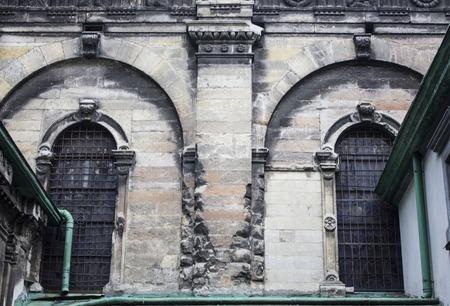 lviv: Arched gate to the church, Lviv, Ukraine