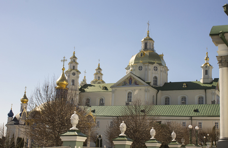 orison: Sacred places of Europe, Pochayiv Lavra in Ukraine