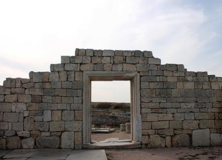 civilization: Arch of ancient Greek civilization, the oldest city, Crimea