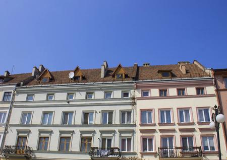 jewish home: Bright facades Jewish Mutual home in a classic style, Ukraine