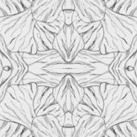 Seamless Zebra Texture. Camouflage Africa Skin. Black Abstract Wild Background. Safari Lines Design. Zebra Pattern. Grey Watercolor Animal Fur. Seamless Zebra Texture. Fashion Zoo Background.