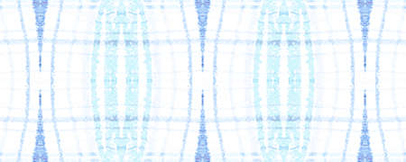 White Blue Plaid. Christmas Watercolor Tartan Texture. Abstract Gingham Tile. Seamless Blue Plaid. Irish Background with Picnic Stripes. Winter Man Flannel. Celtic Navy Blue Plaid.