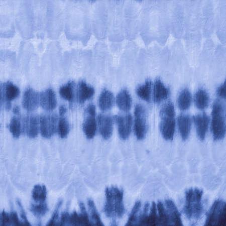 Indigo Stripe Tie Dye. Space Abstract Ethnic Background. Maritime Paintbrush Surface. White Ethnic Ornamental Design. Navy Ink Hand Drawing. Indigo Tie Dye Style. Foto de archivo