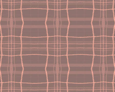 Brown Plaid Pattern. Check Fabric. Seamless Gingham Cloth. Nude Classic British Border. Fall Plaid Pattern. Trendy Stripes Ornament. Pink Buffalo Tweed. Traditional Fall Plaid Pattern.