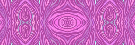 Pink Tiger Leather Print. Psychedelic Abstract Lines. Seamless Wildlife Ornament. Wave Ethnic Textile. Zebra Leather Texture. Seamless Psychedelic Abstract Stripes. Purple Tiger Leather Texture.
