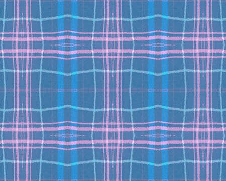 Blue Pastel Check. Seamless Picnic Fabric. Scotland Kilt. Vintage Checkered Blanket. Traditional Pastel Check. Retro Stripes Wallpaper. Celtic Gingham Cloth. Tartan Texture. Pastel Check.