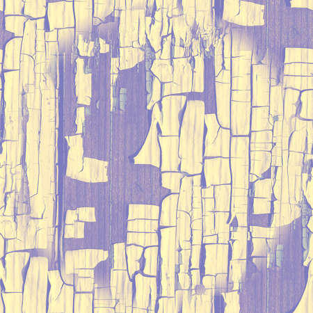 Purple Aged Cracked Fence. Paint Marble Illustration. Grungy Break House. Cracked Fence. Old Rustic Tree Structure. Damaged Drought Effect. Pastel Dry Texture. Seamless Cracked Fence.