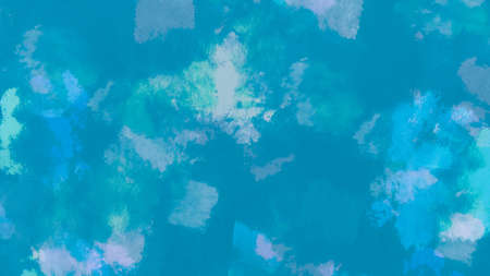 Abstract Water Color. Blue Minerals Oil Pattern. Painted Wallpaper. Water Background Drawing. Oil Pattern. Artistic Craft Surface. Blue Minerals Abstract Water Color.