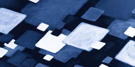 Blue Chevron Wallpaper. Deep Blue Painted Line Patterns. Indigo Watercolor Rhombus. Geometry Artwork. Indigo Watercolour Rhombus. Indigo Watercolour Rhombus. White Abstract Geometry.