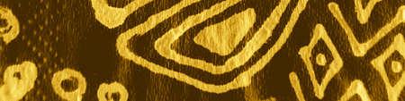 Indian Ornament. Deluxe Bohemian Stripes. Premium Abstract Batik Art. Indian Floral Style. Horizontal Geo Ethnic Print. Abstract Batik Art. Bright Asian Embroidery. Stock fotó