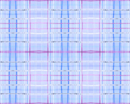 Bright Check Print. Watercolor Tartan Blanket. Woven Traditional Stripes for Kilt Design. Seamless Blue Check Print. British Buffalo Tablecloth. Pink Rustic Check Print.