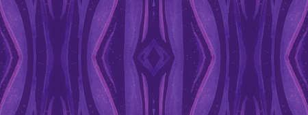 Ethnic Texture Design. Psychedelic Animal Wave Stripes. Tiger Skin Background. Fashion Wildlife Pattern. Seamless Ethnic Textile Design. Geometric Animal Wave Lines. Violet Ethnic Print Design.