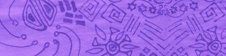 Indian Floral Style. Lavender Ethnic Leaf Pattern. Violet Indonesian Batik. Embroidery Flowers. Purple Geometric Ethnic. Iranian Batik Art. Spanish Ornamental. Ethnic Illustration.
