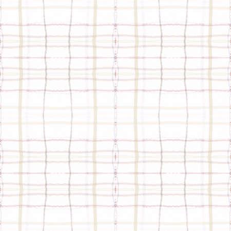 Plaid Pattern. Neutral Check Fabric. Irish Textured Cloth. Seamless Fashion Repeat. Geometric Plaid Pattern. Graphic Square Ornament. Gingham Twill. Picnic Print. Brown Plaid Pattern.