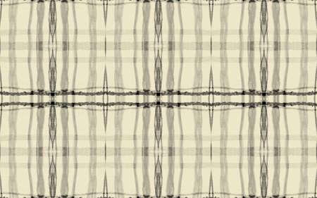Black Fall Plaid Pattern. Seamless Tartan Fabric. Gingham Design. Grey Hipster Irish Repeat. Plaid Pattern. Simple Square Ornament. Yellow Checkered Print. Geometric Plaid Pattern.