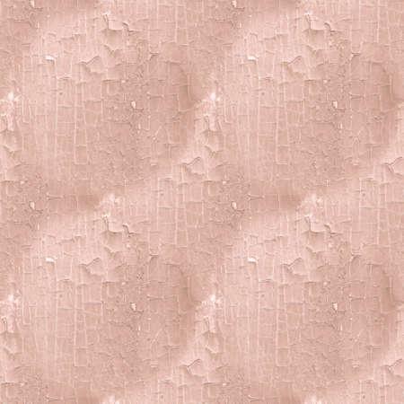 Cracked Paint Texture. Brown Worn Shabby Pattern. Retro Dry Fence. Organic Tree Illustration. Beige Cracked Paint Texture. Distressed House. Break Eroded Design. Cracked Paint Texture.