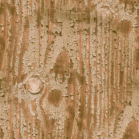 Beige Crackle Paint. Worn Broken Texture. Ancient Break Stencil. Distress Tree Background. Crackle Paint. Brown Decorative Coating. Flake Design. Crack Illustration. Seamless Crackle Paint.