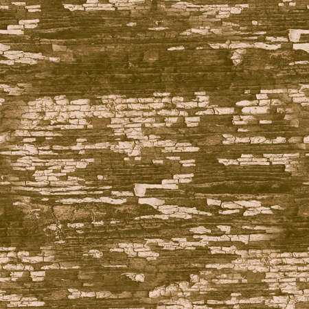 Brown Crackle Paint. Worn Crack Pattern. Ancient Break Fence. Distress Tree Illustration. Crackle Paint. Beige Decorative Lumber. Scratch Wall. Marble Background. Seamless Crackle Paint.
