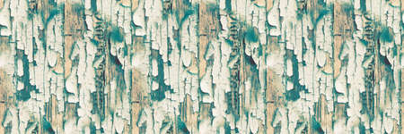 Texture Paint On Board. Broken Illustration. Seamless Crackle Wall. Scratch Wood Wall. Blue Distress Poster. Texture Paint On Board. Rustic Weathered Plywood. Green Wooden Background. 写真素材
