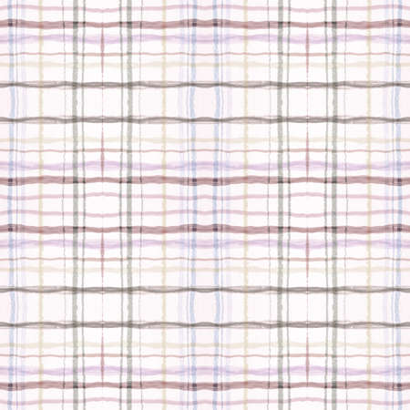 Plaid Pattern. Pale Check Texture. Scottish Checkered Tweed. Seamless Hipster Repeat. Geometric Plaid Pattern. Retro Stripe Ornament. Gingham Twill. Picnic Wool. Beige Plaid Pattern.