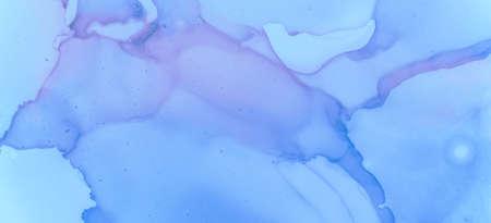 Pink Pastel Flow Design. Contemporary Color Background. Pastel Fluid Liquid. Gradient Ink Stains Texture. Blue Pastel Flow Splash. Blue Contemporary Paint Background. Gradient Ink Stains Pattern.