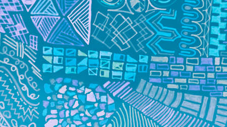 Distressed Geometry. Mint Modern Artistic Wall. African Art Drawing. Mineral Distressed Geometry. Creative Tribal Design. Grunge Background. African Patterns. Watercolour Mosaic.