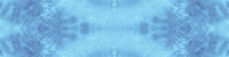 Seamless Blue Tie Dye Print Shibori. Watercolor Motif Pattern. Artistic Paint Surface. Grunge Crumpled Paper. Tie Dye Texture. Watercolour Abstract Pattern. Artistic Paint Surface.