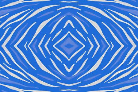 Seamless Tiger Skin. White Cheetah Wallpaper. Fashion Wild Pattern. Camouflage Safari Fabric. Blue Zebra Skin. Seamless African Wallpaper. Abstract Wild Texture. Animal Skin. Wildlife Background.