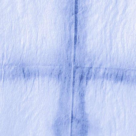 White Chevron Background. Marine Dirty Ink Strokes. Indigo Watercolor Diagonal. Geometric Abstract. Indigo Geometrical Rhombus. Nautical Geometric Shapes. Indigo Watercolour Rhombus.