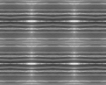 Silver Stripes Texture. Seamless Abstract Aluminum Banner. Vintage Metal Design. Silver Stripe Texture. Retro Line Background. Technology Banner. Glitter Effect. Seamless Silver Stripes Pattern.