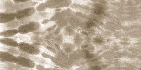 Papyrus Tie Dye Design. Ink Painted Paper. Aquarelle Colored Spots. Page Paintbrush Artwork. Shibori Tie Dye. Irregular Retro Print. Antique Aquarelle Illustration. Archivio Fotografico