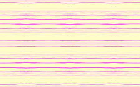 Stripe Texture. Yellow Artistic Stroke Pattern. Handmade Geometric Background. Grunge Texture. Color Textile Print. Vintage Lines Pattern. Seamless Geometric Wallpaper. Pink Stripe Texture. 版權商用圖片