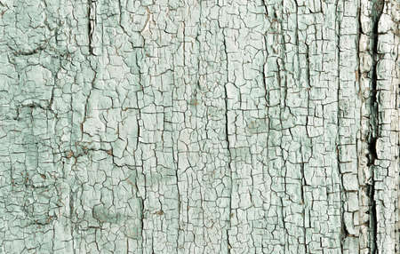 Brown Crack Background. Paint Timber Texture. Crackle Panel. Distress Aged Crack Background. Vintage Illustration. Blue Abandoned Floor. Eroded Effect. Wooden Material. Crack Background. Banque d'images