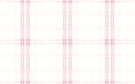 Girl Pajama Pattern. Woven Seamless Tartan Textile. Watercolor Stripes for Fabric Print. White Pink Pajama Pattern. Geometric English Checkered Wallpaper. Pastel Vintage Pajama Pattern.