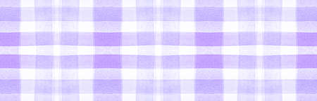 Purple Flannel Checks. Watercolour Square Border. Classic Gingham Tablecloth. Seamless Flannel Checks. Scottish Cloth Design. Irish Traditional Fabric. White Tartan Pattern. Flannel Checks.