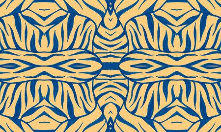 Animal Skin Pattern. Seamless Exotic Wallpaper.
