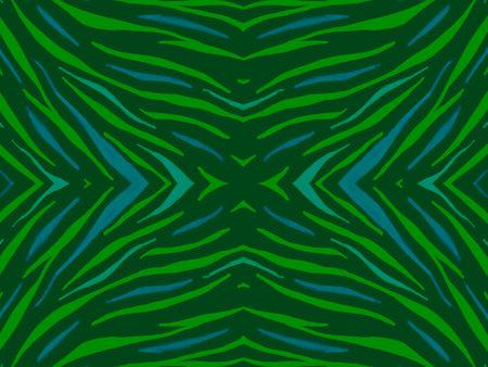 Seamless Ethnic Print. Animal Fabric Design.