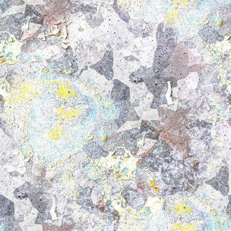 Paint Distress Dirty Texture. Grunge Grain 版權商用圖片
