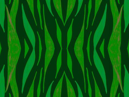 Seamless Ethnic Banner. Abstract Tribal Fabric 版權商用圖片