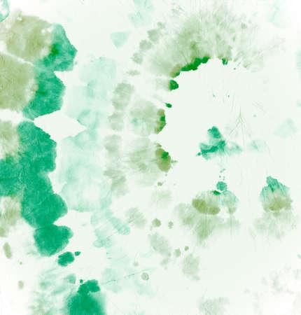Tie Dye Circular. Batik Psychedelic Texture. Hippie Art Backdrop. Green Tie-Dye Dress. Circle Color Swatch. Abstract Artistic Fabric. Rock Spiral Design. Swirl Painting. Circular Tie Dye.